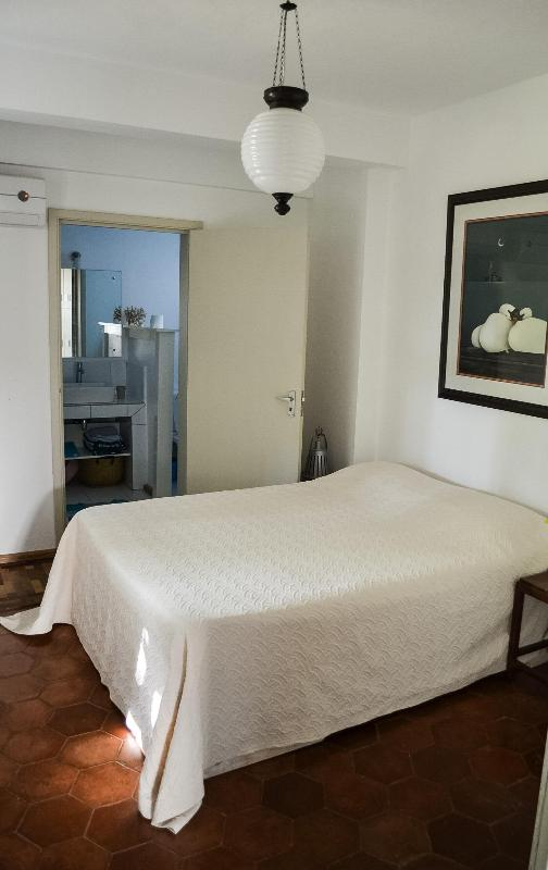 The bedroom - An apartment garden view, close to sea - Pointe d'Esny - rentals