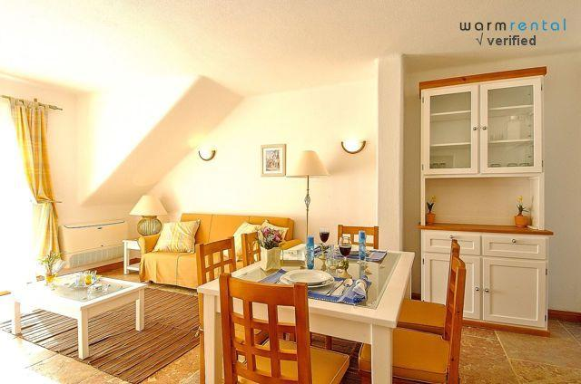 Living & Dining Area  - Giddah White Apartment - Olhos de Agua - rentals