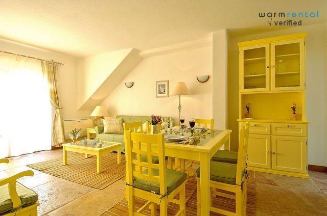 Living & Dining Area  - Giddah Yellow Apartment - Olhos de Agua - rentals