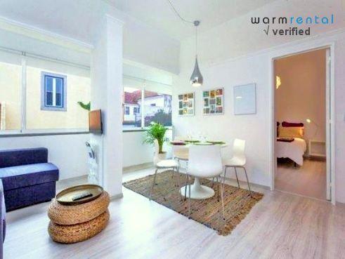 Living Room  - Salep Apartment - Cascais - rentals