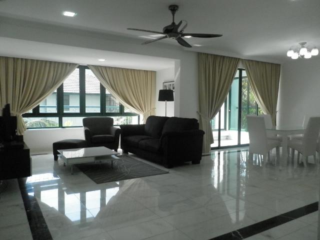 Living Area - For Rent - Condominium near KLCC, Kuala Lumpur Cit - Kuala Lumpur - rentals