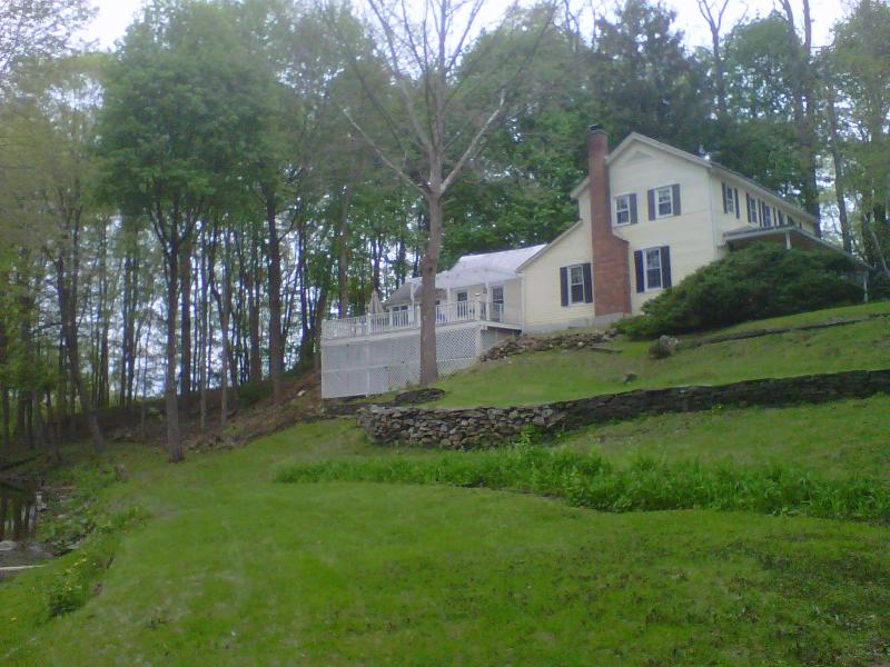 Berkshires Waterfront Antique Farmhouse + Barn - Image 1 - Chatham - rentals
