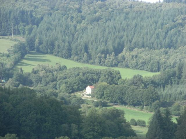 view of house - Ticketyboo - apartment for two people in the lake district of france - Eymoutiers - rentals