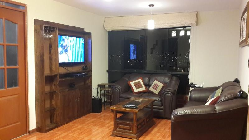 Living Room, 42 inch TV, home theater. - It feels like home - Cusco - rentals