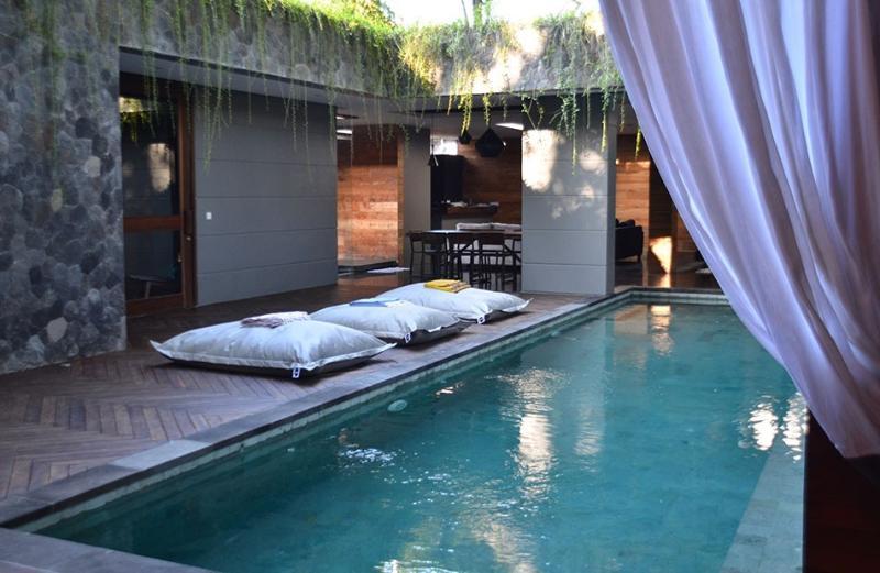From the day bed - Villa Satu - in Nest Villas, in Seminyak Bali - Seminyak - rentals