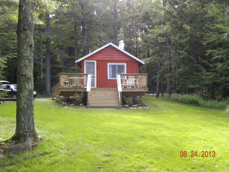 Looking from the lake - Lake Lucerne Cottage Rental (Crandon, Wisconsin) - Crandon - rentals