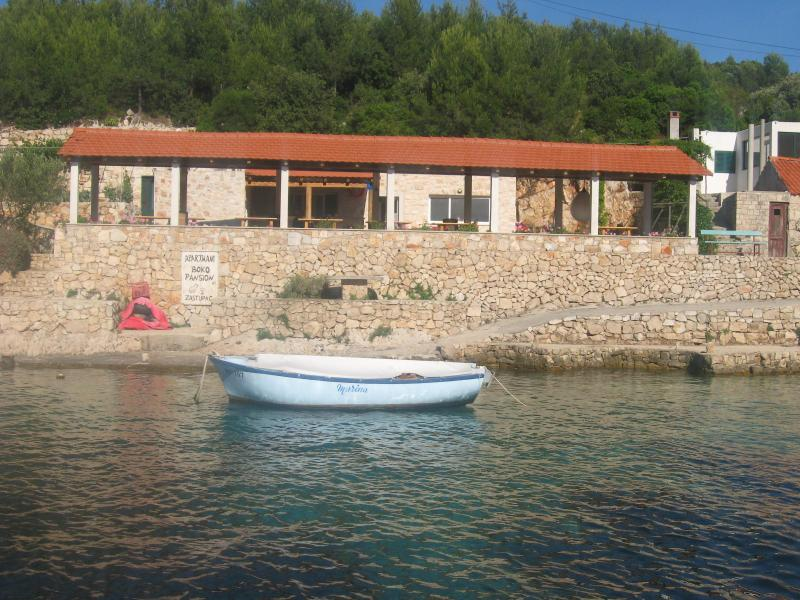 terrace - Holiday villa by the sea - Hvar - rentals