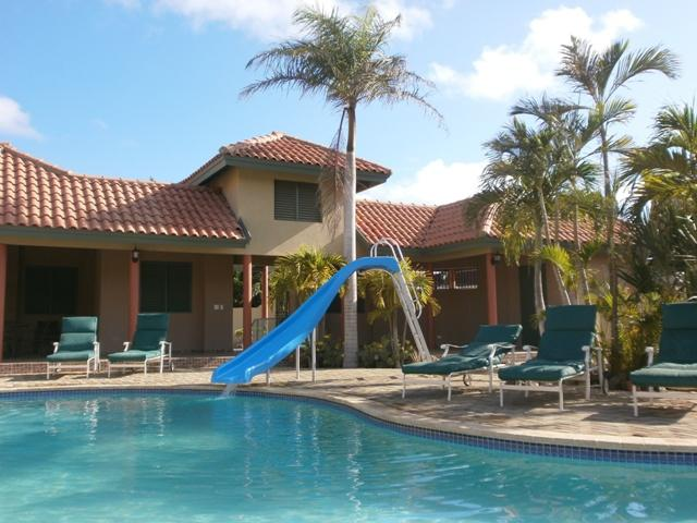 Palma Real's swimming pool at clubhouse. - Palm Bliss Three-bedroom townhouse - PR003 - Palm Beach - rentals