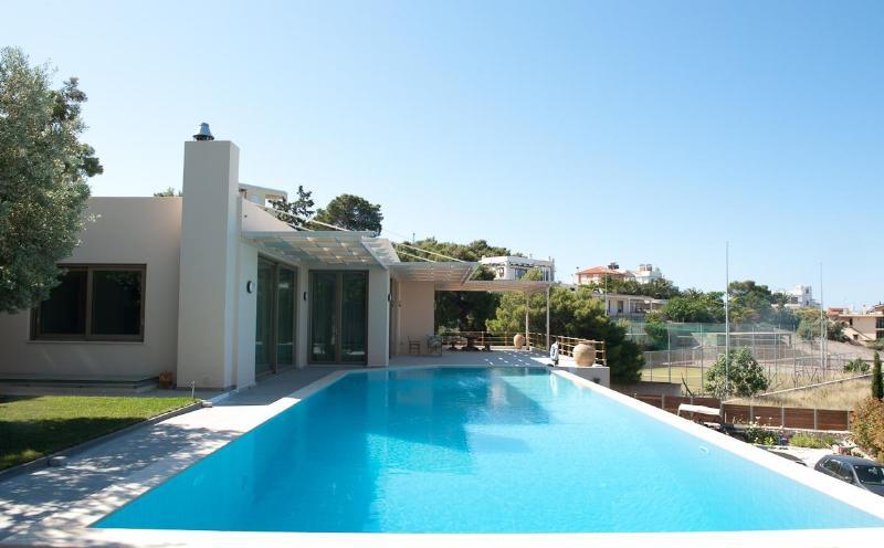 Villa Blue Coast, Lagonisi, Athens, Attica, Greece - Image 1 - Lagonisi - rentals