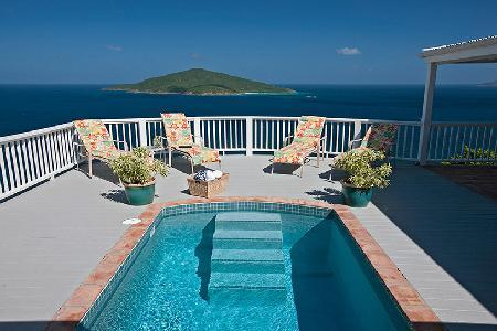 Villa Wild Ginger with unforgettable ocean views, garden patio and golf course - Image 1 - Mahogany Run - rentals