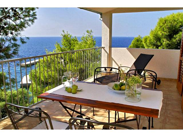 Private terrace 25 sqm - Penthouse Lukavci with a beautiful sea view - Sveta Nedelja - rentals