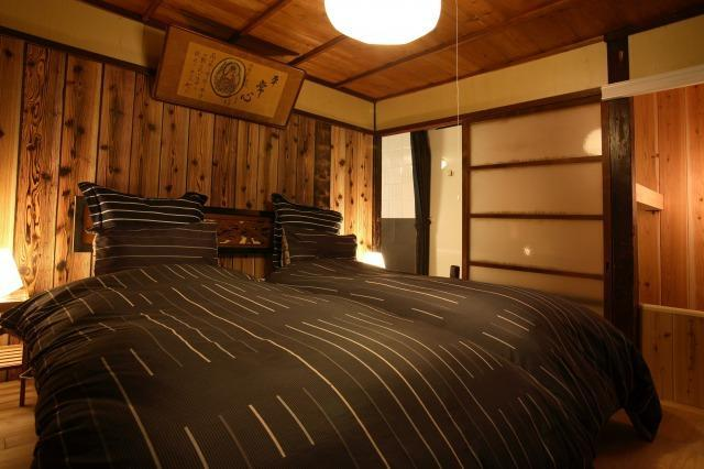 Main bedroom - Authentic Wooden Casa Historic Gion - Kyoto - rentals