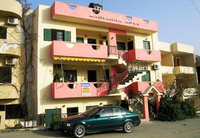 Apartments front - Spacious Apartment next to the beach - Agia Pelagia - rentals