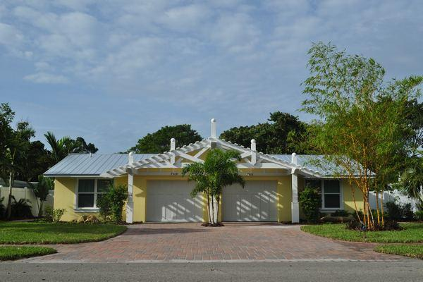 Sand Dollar Duplex Road View - Sand Dollar Shack - Holmes Beach - rentals