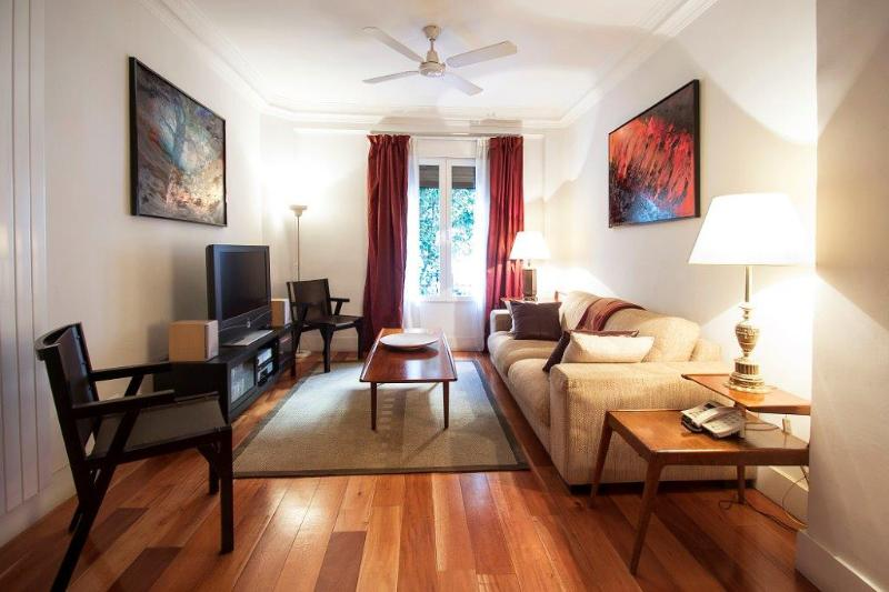 Living Room at General Pardiñas by Home at Homes - Vivienda de uso turístico VT-19 - Madrid - rentals