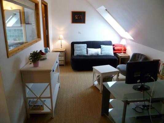 Salon depuis 2014 à Gîtes Drogou, Bretagne, Finistère, Porspoder. - Gîte de charme en bord de mer WIFI - Porspoder - rentals