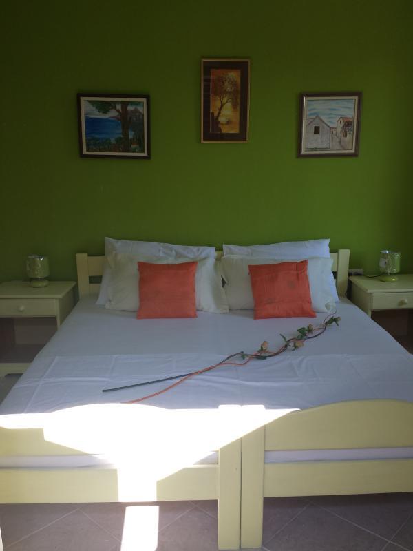 king size bed - Green sunshine - Baška - rentals