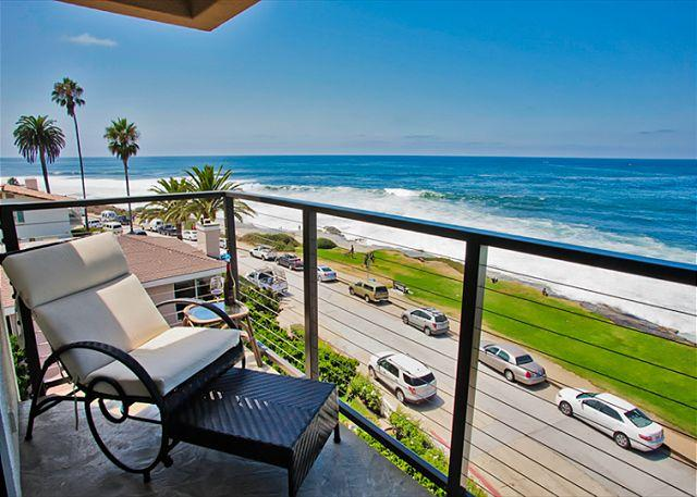 Ocean view penthouse suite in the heart of the Village - Image 1 - La Jolla - rentals
