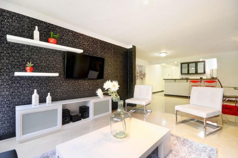 Upscale Apartment on Golden Mile - Image 1 - Medellin - rentals