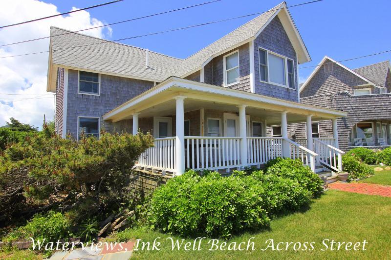 SAMAJ - Gorgeous Ocean View Cottage Home, Ink Well Beach Across Street, Walk to Town - Image 1 - Oak Bluffs - rentals