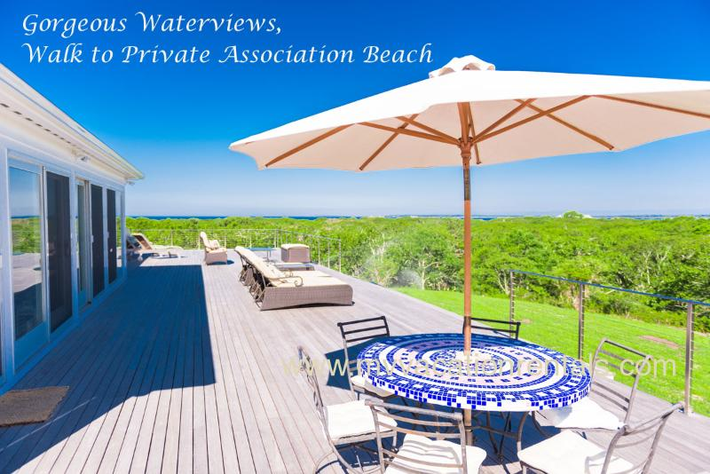 REIDM - Makonikey with Panoramic Water Views, Walk to Private Association Beach, Breathtaking Sunsets - Image 1 - West Tisbury - rentals
