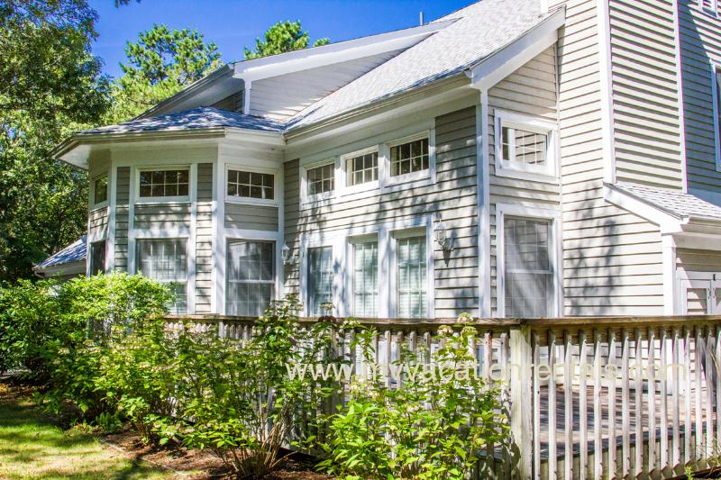 Deck - HAIMM - 1 Mile to Town, Association Pool, Tennis and Beach, Wifi - Vineyard Haven - rentals
