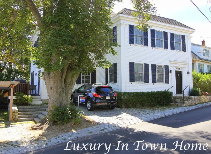 Exterior of House - ADAMR - Waterview, In Town - 2 minute walk to Main St., Wifi, A/C - Vineyard Haven - rentals