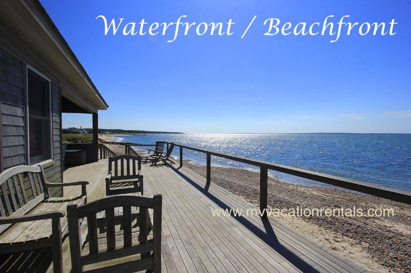 PARRN - Boutique Luxury Cottage Waterfront and Beachfront - Image 1 - Vineyard Haven - rentals