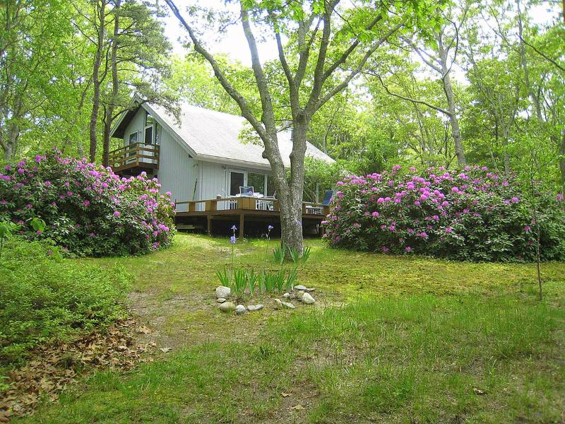 Exterior of House - NETNA - Shared private beach adjacent to Mink Meadows Golf Course, Wifi - Vineyard Haven - rentals