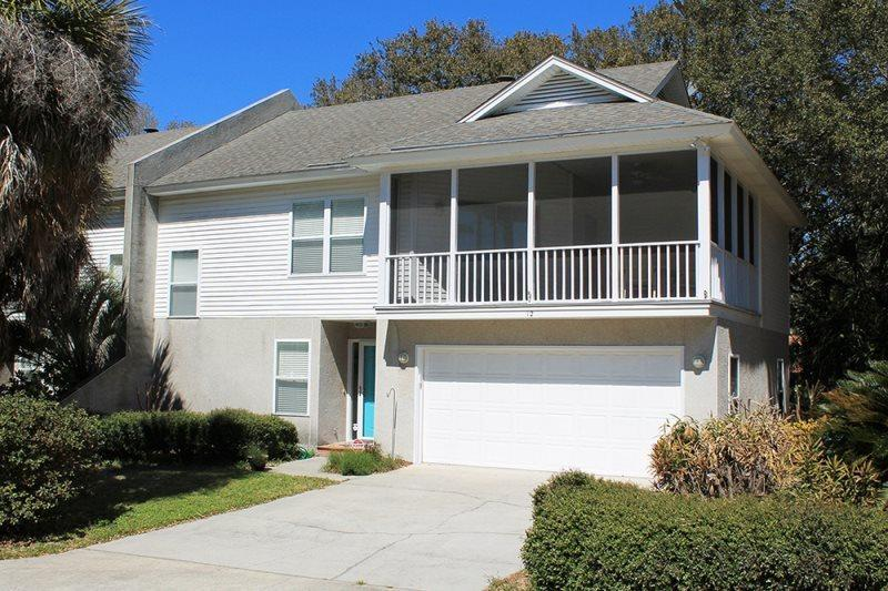 Located within easy walking distance to the beach Atlantic Ocean and Downtown Tybee, this duplex townhouse is a great choice for a family vacation - #12 12th Terrace - Close to the Beach and Downtown Tybee - Small Dog Friendly - Tybee Island - rentals