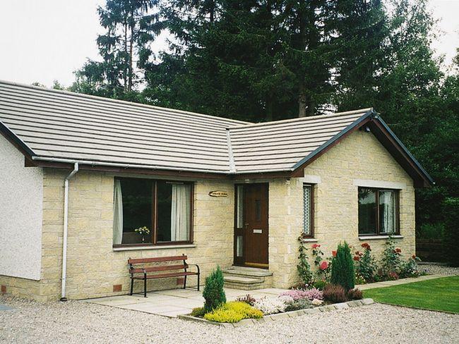 View towards the property - I200E - Newtonmore - rentals