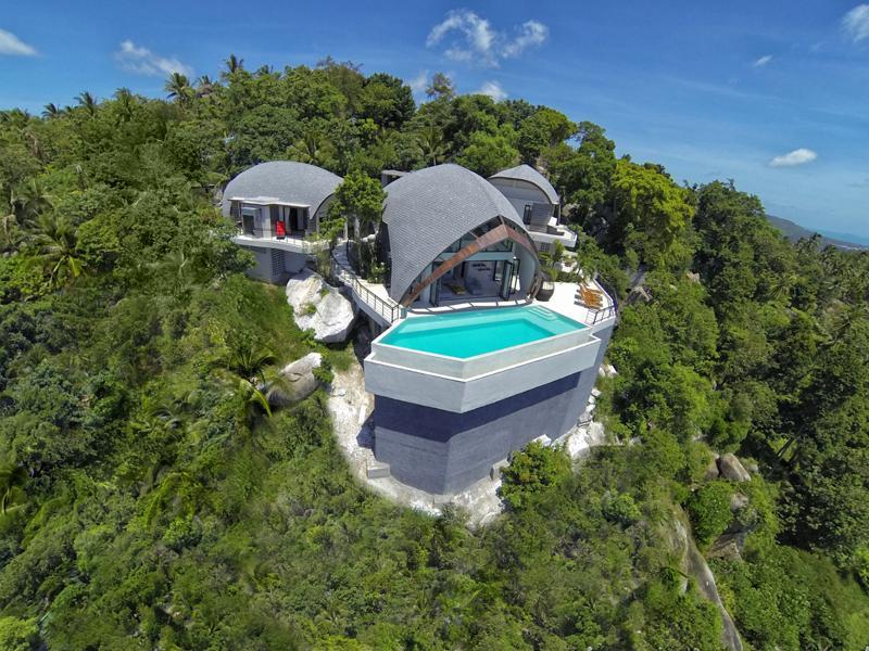 Villa Moonshadow, Winner of Thailand Property Award 2013-  for Best Villa Architectural Design - Image 1 - Koh Samui - rentals