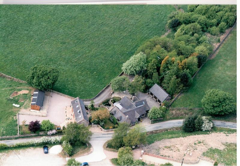 located in an area of outstanding natural beauty amidst fields and gentle wooded slopes - Ballfields Barn self catering holiday cottage - Leek - rentals