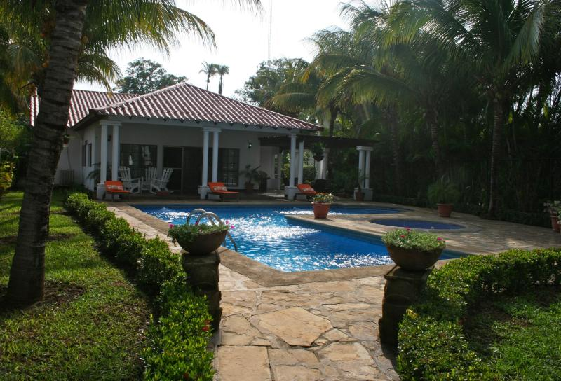 Lux Beach House Front View - Image 1 - Montelimar - rentals