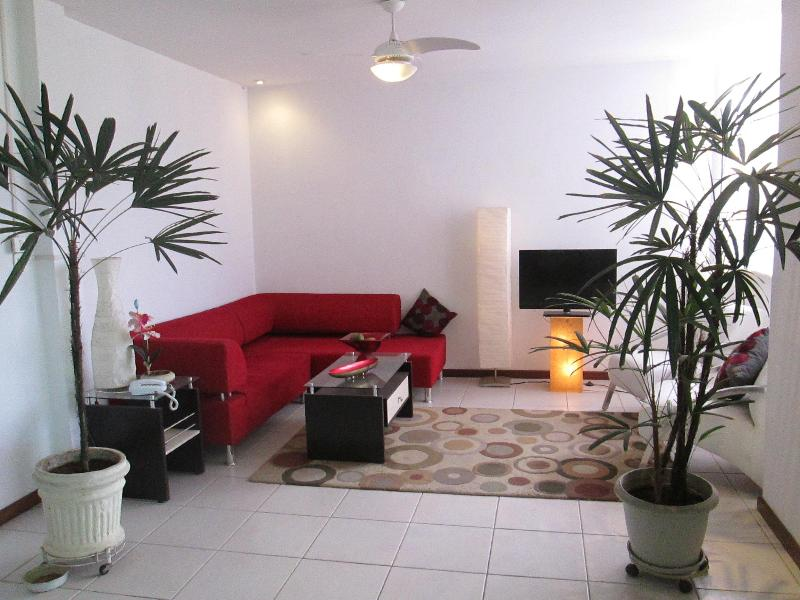 Spacious Living Room - Penthouse with stunning 10' x 40'  foot veranda - Rio de Janeiro - rentals