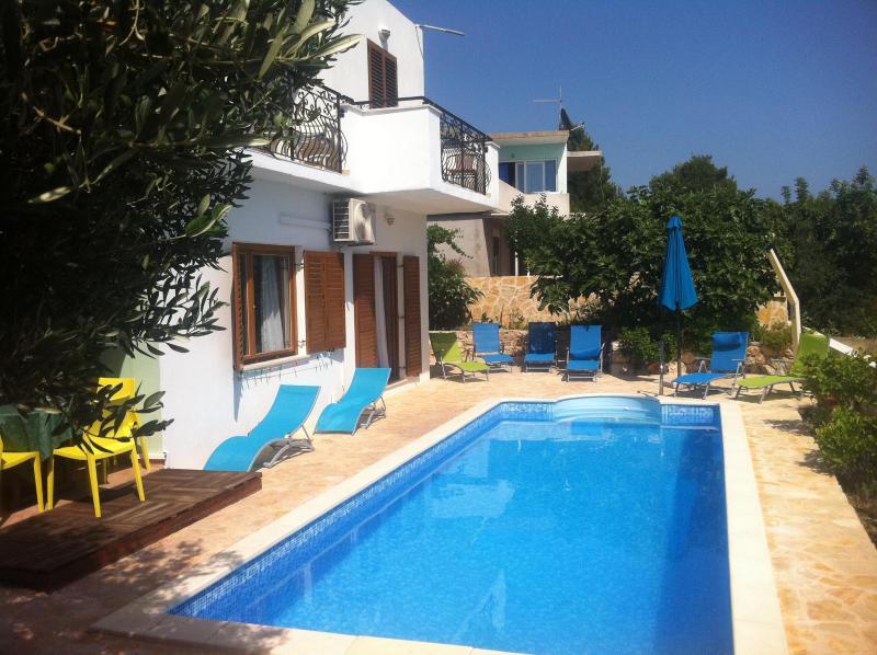 Villa Katarina - Luminous Apartment with Pool (Katarina 1) - Hvar - rentals