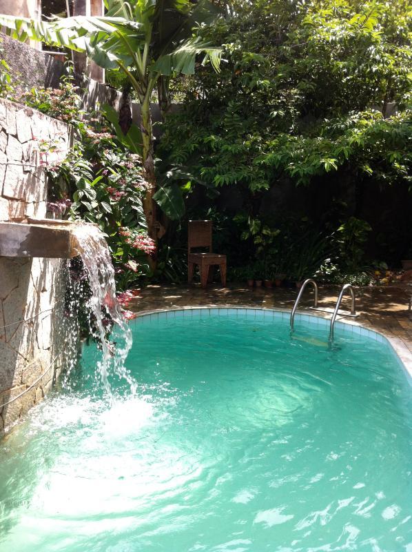 poolside - Cozy garden home, 100m from beach in scenic Itapua, Salvador - Lauro de Freitas - rentals