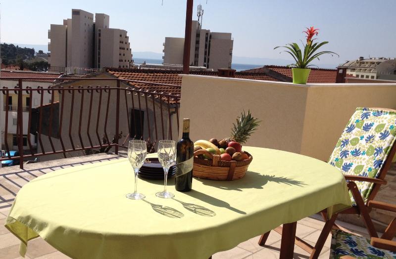 Terace - view - Apartment Ravlic - Makarska - rentals
