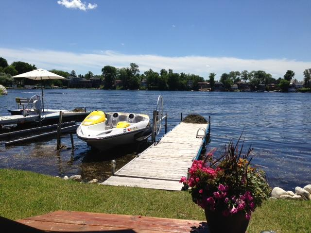 30 Ft. frontage with dock and boat lift - T3Venture - Okauchee Lake Cabin Retreat - Okauchee - rentals