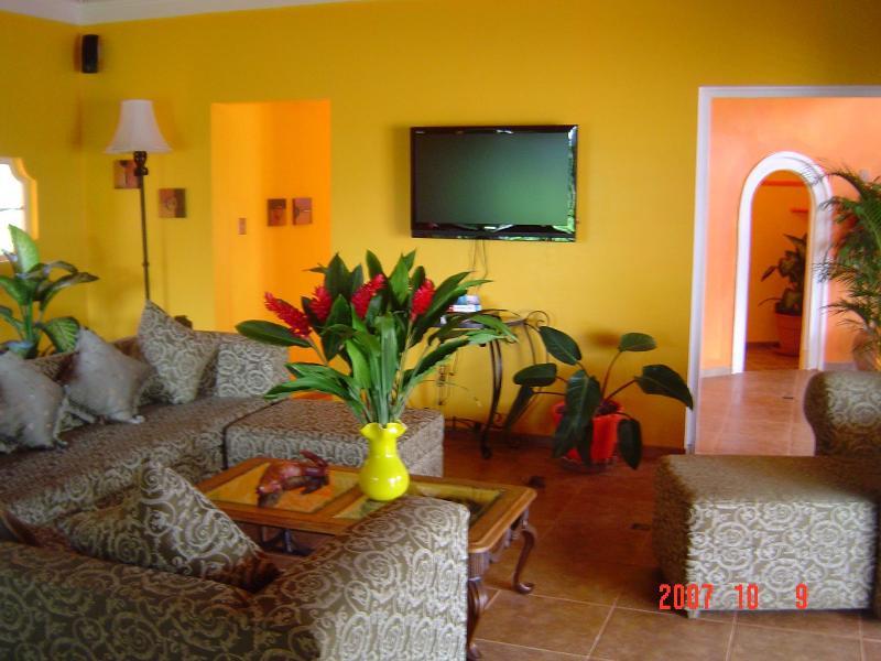 Living Room - Classic Elegance - 5 Bedroom Villa in Montego Bay - Alligator Pond - rentals