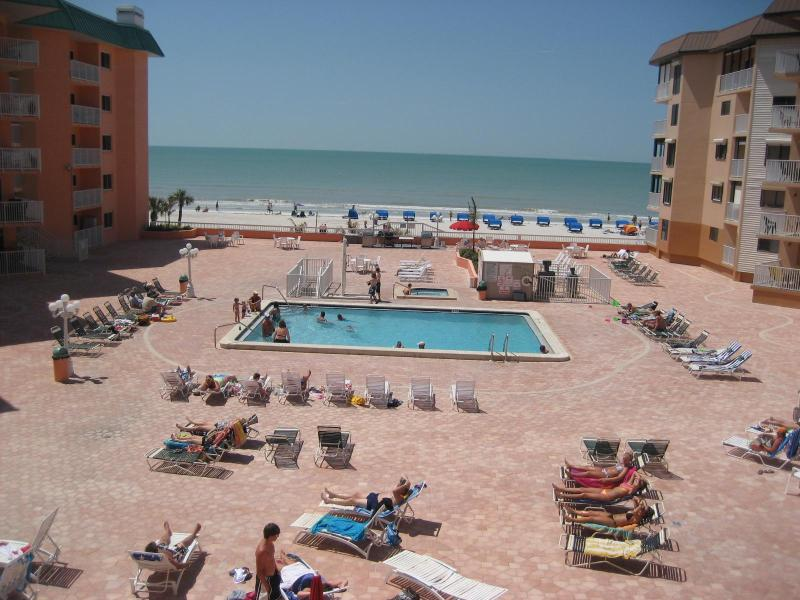 Gorgeous Balcony Views by Day - Beach Cottage 2304 Beachfront Condo - Indian Shores - rentals