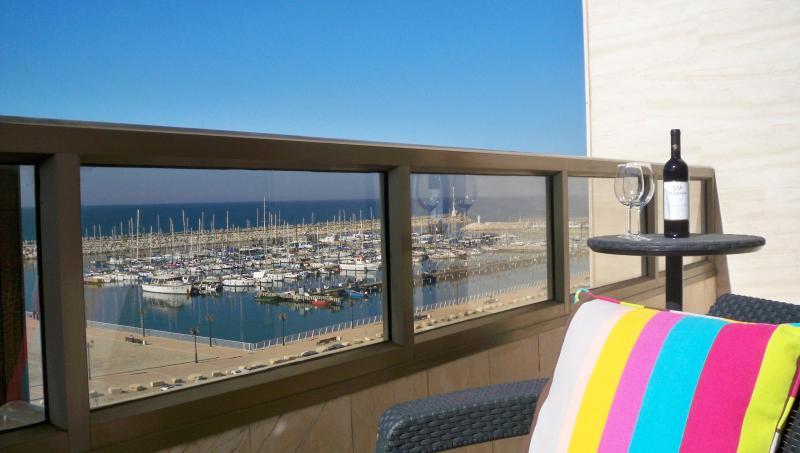 Balcony view - Kosher Penthouse on the Mediterranean - Ashkelon - rentals