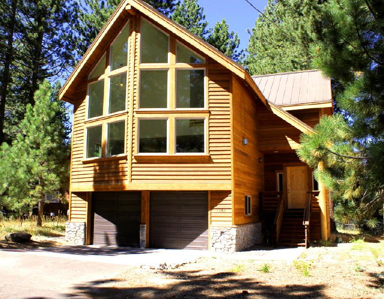 The front of our beautiful Tahoe Home - New Custom South Lake Tahoe Home, Fantastic Locati - South Lake Tahoe - rentals