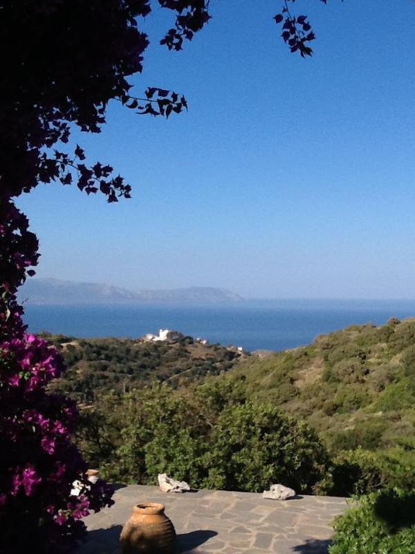 The terrace view - Rustic Farm Idyll - Potamos - rentals