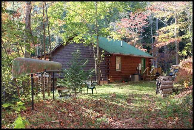 Exterior 1 - Private cabin, lake access, kayaks, canoes, Pets - Bryson City - rentals
