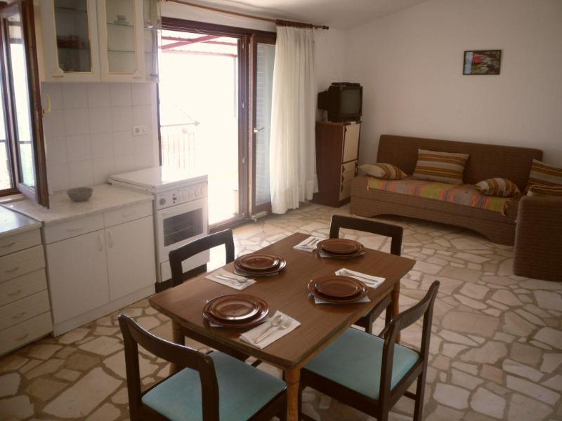 Our beautiful spacious living room with balcony entrance - AV Rako Apartment 2 - Okrug Gornji - rentals