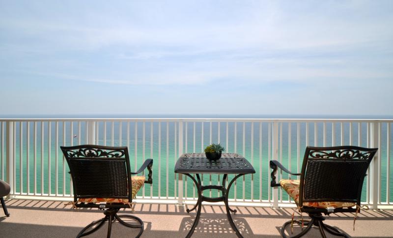 Balcony view!! - Fabulous BEACH front Condo; 2/2 at Tropic Winds - - Panama City Beach - rentals