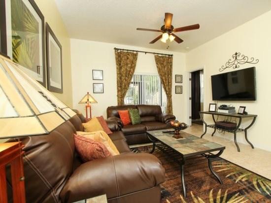 3 Bedroom 2 Bath Condo In Resort Community. 2854OD - Image 1 - Orlando - rentals