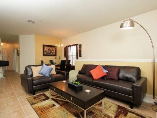 3 Bedroom 2 Bath Condo in Kissimmee Rosort Community. 2712OD - Image 1 - Orlando - rentals