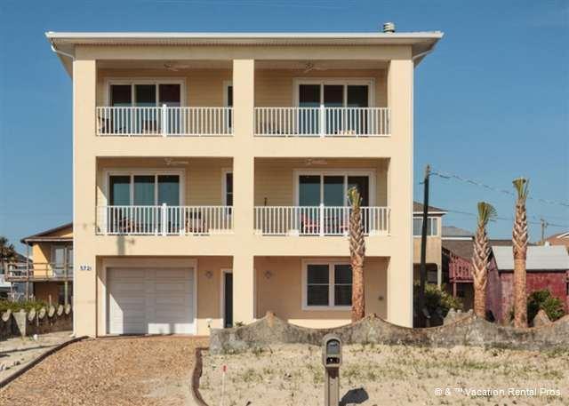 Gloria Beach House is a brand new vacation rental - Gloria Beach House, 5 Bedrooms, Deluxe, Beach Front - Saint Augustine - rentals